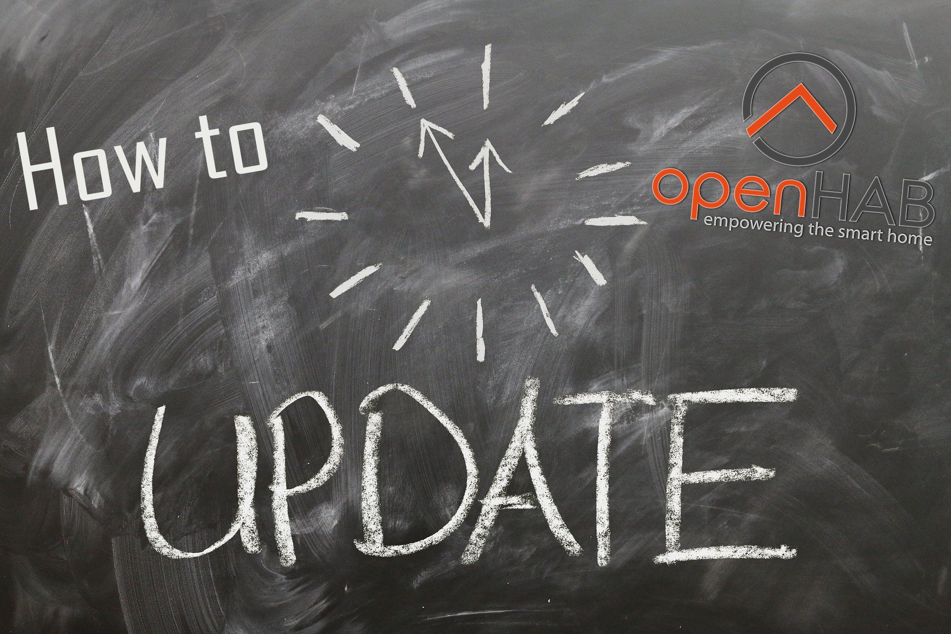 how to update openhab